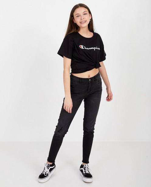 T-shirt noir Champion - custom fit - Champion