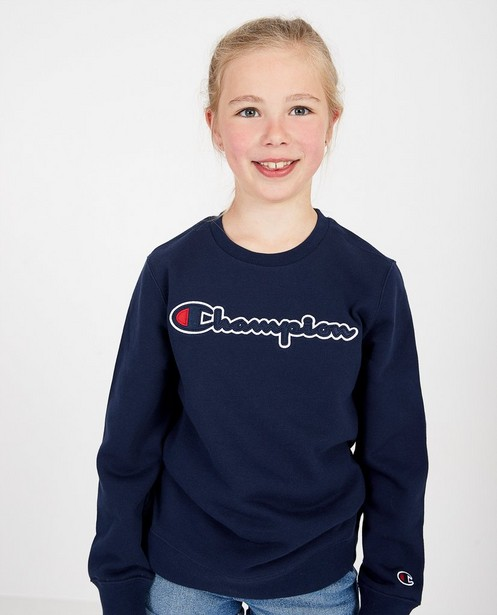 Sweaters - Blauwe sweater Champion