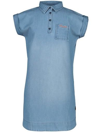 Lichtblauwe jeansjurk Levv