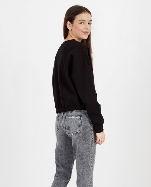 Sweats - Sweater noir avec inscription