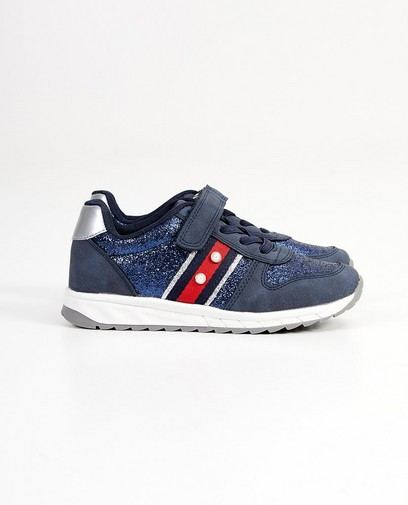 Blauwe sneakers, maat 28-34