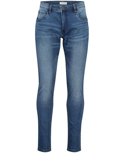 Blauwe skinny jeans Jimmy - stretch - Quarterback