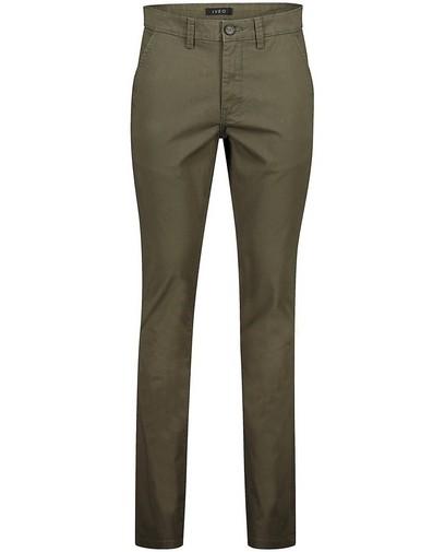 Pantalon slim fit vert foncé