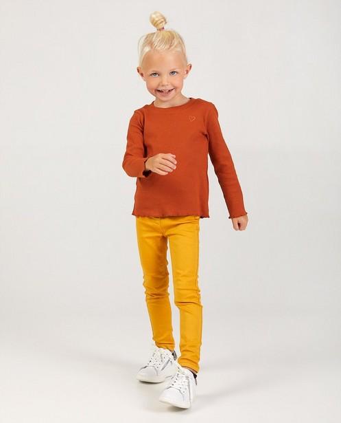 Gele broek BESTies - stretch - Besties