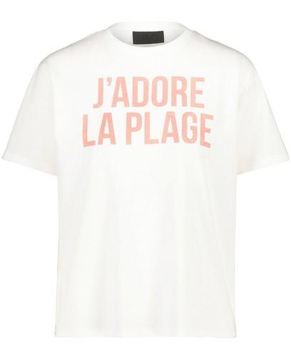 T-shirt blanc à inscription Youh!