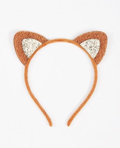 Diadème brun avec de petites oreilles BESTies