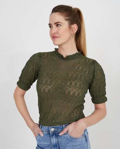 T-shirt vert Ella Italia