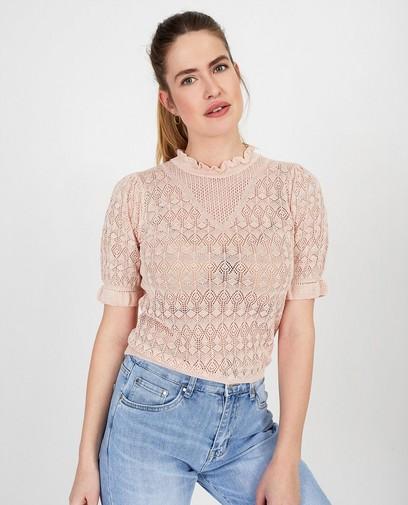 T-shirt rose Ella Italia