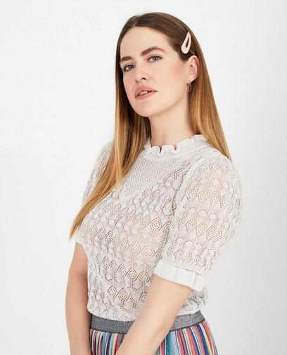 T-shirt blanc Ella Italia