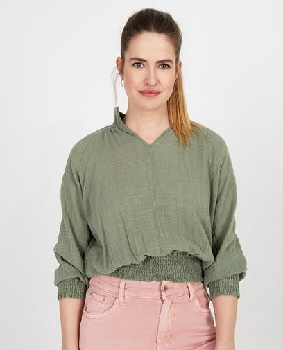 Kaki blouse Ella Italia