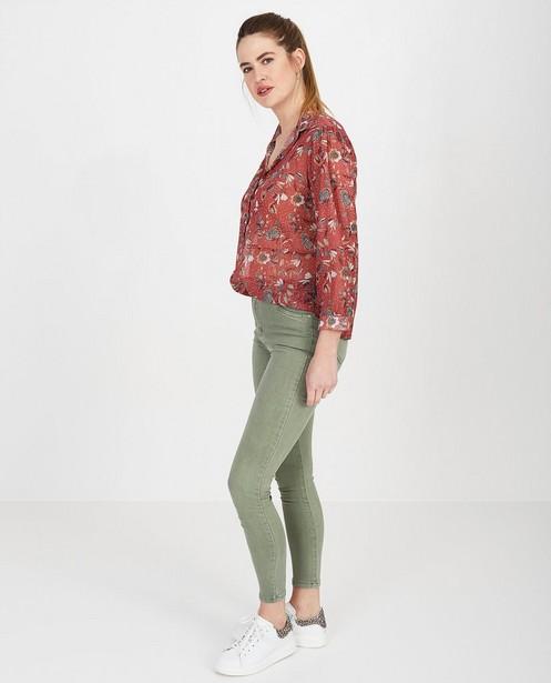 Bordeaux blouse Ella Italia - null - Ella Italia