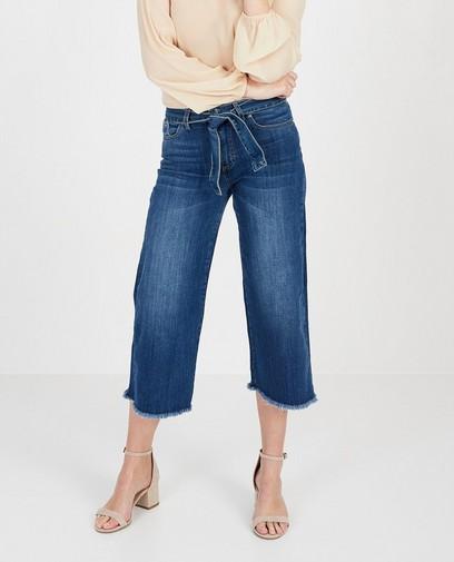blauwe culotte jeans Ella Italia