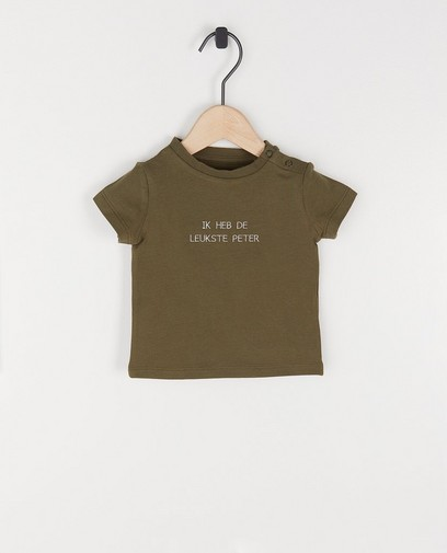 Wit unisex T-shirt, Studio Unique