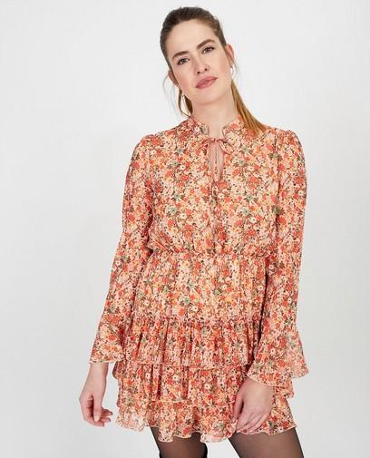 Oranje jurk Ella Italia