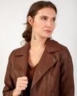 Blazers - Bruine jas in faux-leather Sora