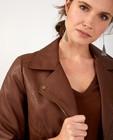 Blazers - Veste brune en similicuir Sora