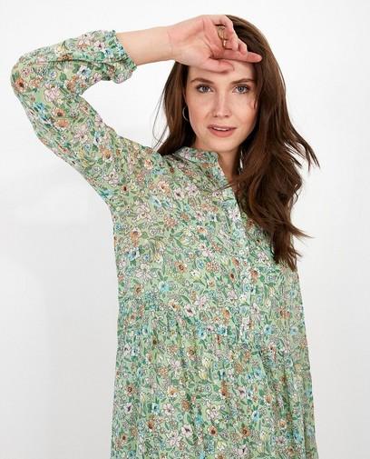 Mintgroene maxi-jurk Karen Damen