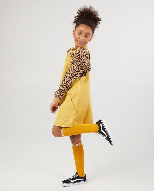 Robe salopette jaune BESTies - denim - Besties