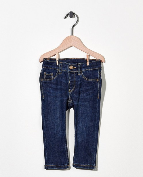 Donkerblauwe jeans met stretch - van denim - Cuddles and Smiles