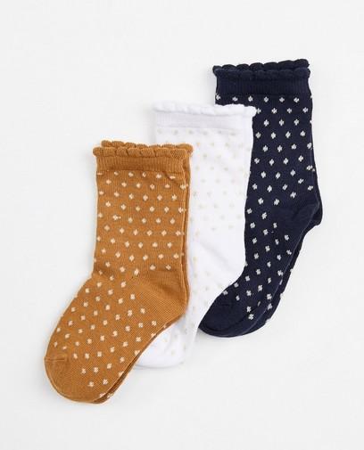 Lot de 3 paires de chaussettes pour bébés