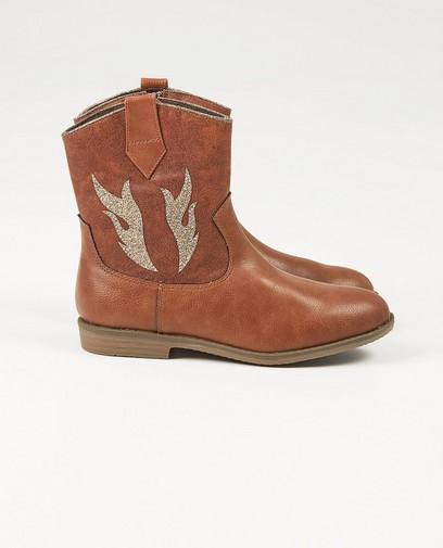 Bruine laarzen, maat 33-38