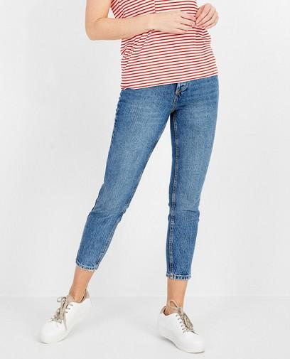 Lichtblauwe jeans Pieces