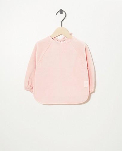 Waterdicht roze slabbetje Jollein
