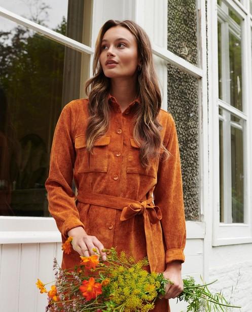 Robe durable rouille I AM - écologique - I AM