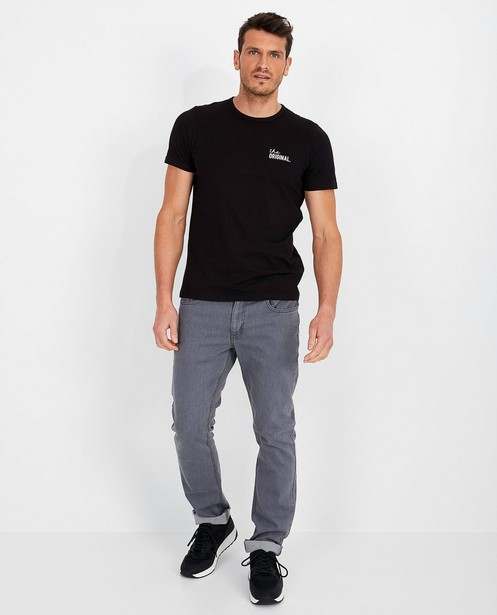 Regular jeans in grijs - Danny - met medium waist - JBC