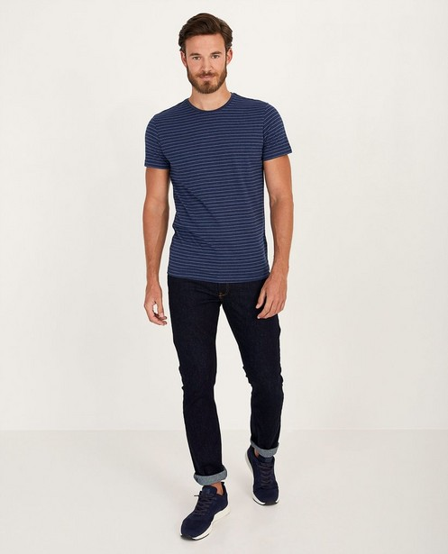 Donkerblauwe slim jeans Smith - lichte stretch - JBC