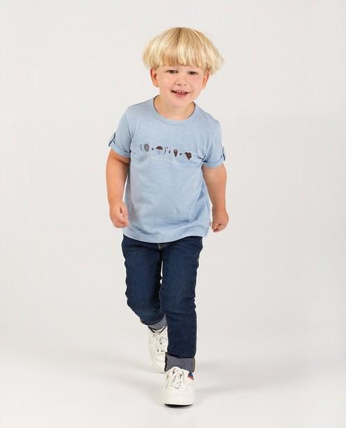 T-shirt en coton bio, 2-7 ans - #familystoriesJBC - Familystories
