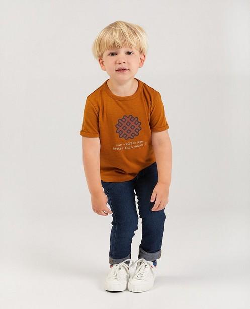 T-Shirt aus Biobaumwolle, 2-7 Jahre - #familystoriesJBC - Familystories