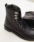 Chaussures - Bottillons noirs avec des clous