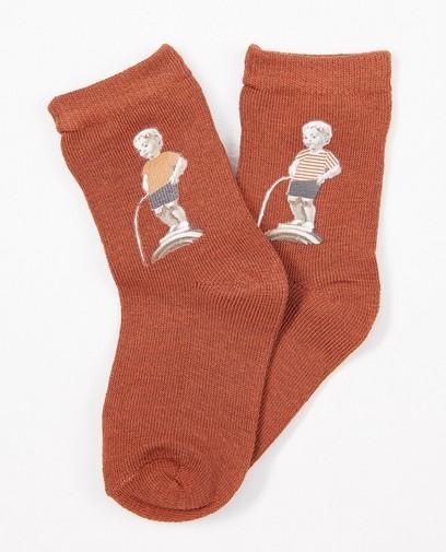 Chaussettes Manneken-Pis, 2-7 ans