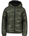 Manteau d'hiver réversible s.Oliver - kaki et noir - S. Oliver