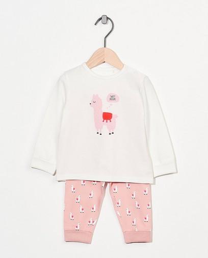 Pyjama évolutif en coton bio