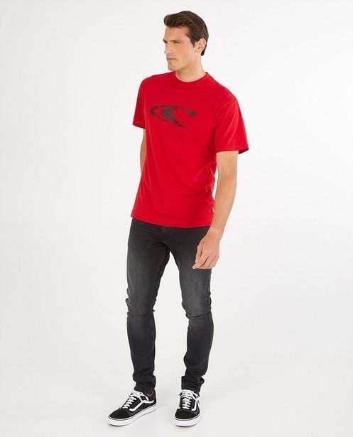 T-shirt rouge, inscription O'Neill - stretch - O'Neill