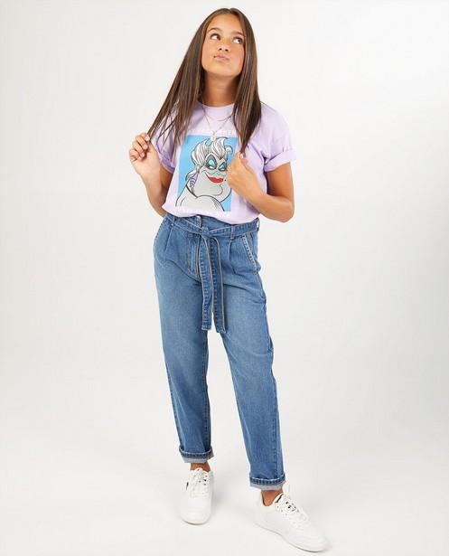 T-shirt mauve pâle, imprimé - Ursula - Groggy