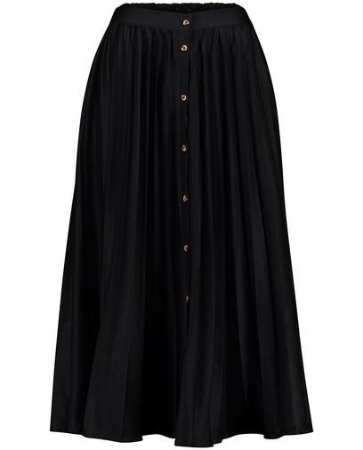 Jupe plissée noire Sora