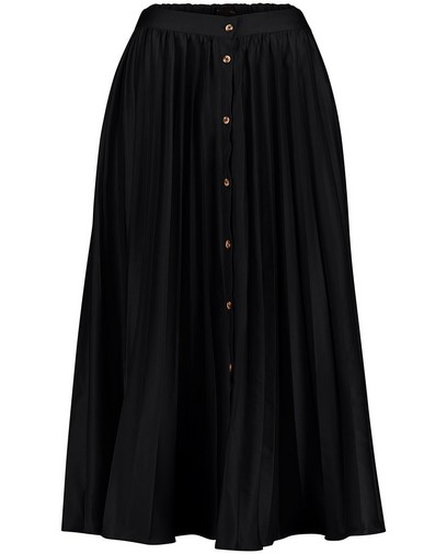 Zwarte plissérok Sora