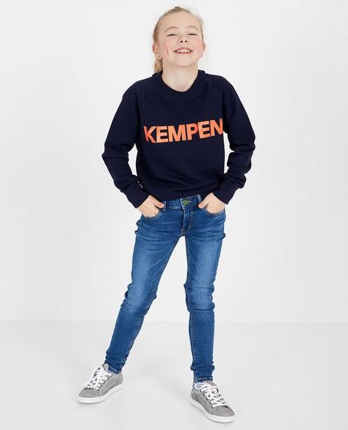 Sweat bleu unisexe KEMPENTM - à inscription - Kempen