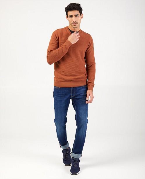Jeans slim bleu - Jet - avec du stretch - Blend