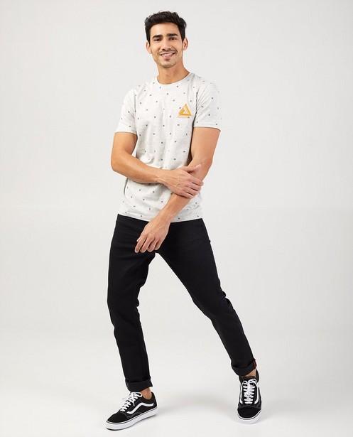 Jeans slim noir - Jet - avec des plis de port - Blend