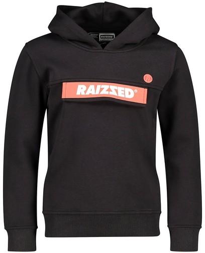 Schwarzer Hoodie Raizzed