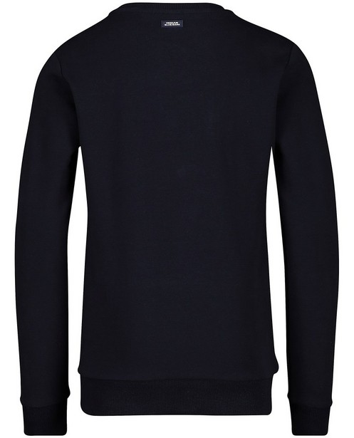 Sweaters - Blauwe sweater Indian Blue Jeans