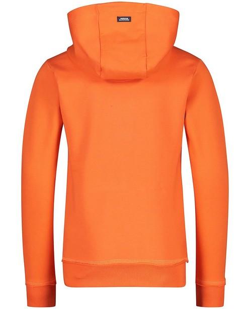 Sweaters - Oranje hoodie Indian Blue Jeans