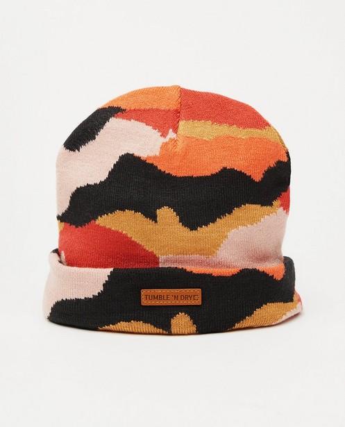 Bonnet à imprimé camouflage Tumble 'n Dry - tons de rouge - Tumble 'n Dry