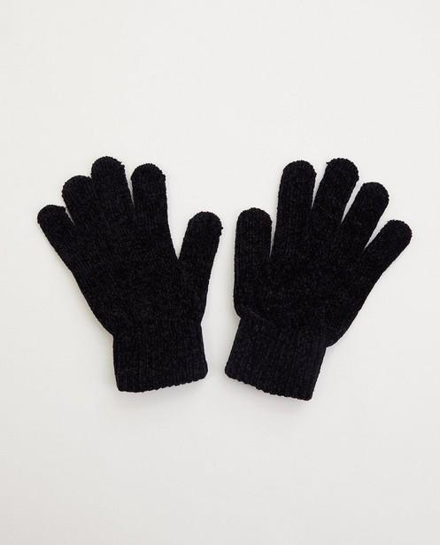 Gants noirs - tricot - JBC