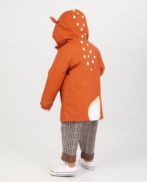 Manteau en caoutchouc rouille - imperméable - JBC