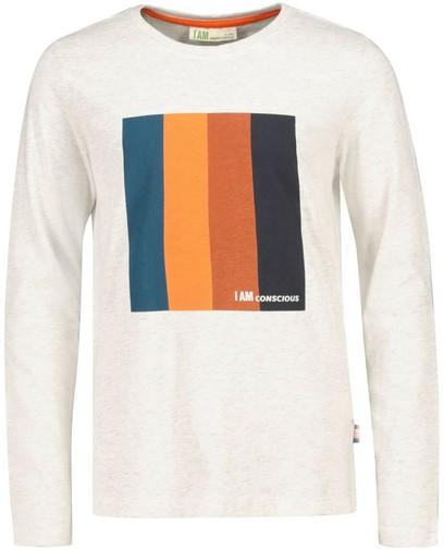T-shirt à manches longues en coton bio I AM